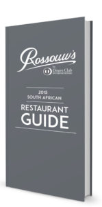 Rossouws by Diners Club South African Restaurant Guide 2015