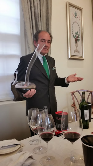 Georg J Riedel of Riedel.