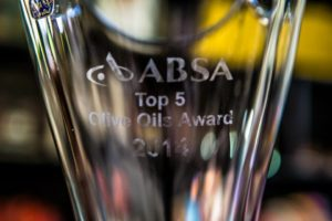 Absa Top 5 Olive Oil Awards 2014